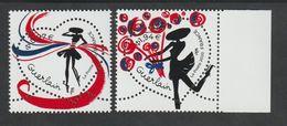 """TIMBRE - 2020 -   N° 5373/74  - Saint Valentin , """"Cœur Guerlain"""" -   Neuf Sans Charnière - - Isole Faroer"""