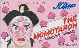 Télécarte Japon / 110-37291 - MANGA - WEEKLY JUMP - THE MOMOTAROH - ANIME Japan Phonecard - 12085 - Cómics