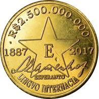 Monnaie, CABINDA, 2 Milliards 500 Millions De Reais, 2017, Esperanto, SPL - Angola
