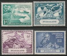 Nyasaland Sc 87-90 Set MLH - Nyasaland (1907-1953)