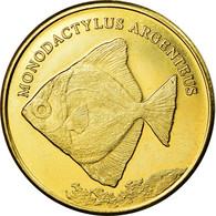 Monnaie, Congo Democratic Republic, 5 Rupees, 2019, Maluku - Monodactylus - Kongo (Dem. Republik 1998)