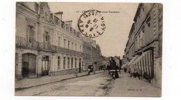 49 - CHOLET - L'Avenue Gambetta - Animée + Marcophilie (Vaguemestre - Dépoôt De Cholet)  - 1916 (K34) - Cholet