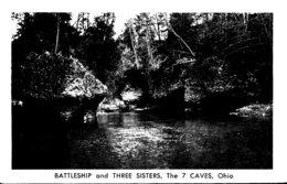 Ohio Rocky Fork Creek The 7 Caves Battleship And Three Sisters - Etats-Unis