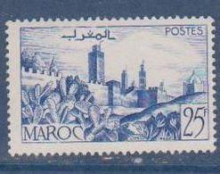 MAROC       N°  YVERT   265 A    NEUF AVEC CHARNIERES      ( CHAR   03/53 ) - Nuovi