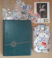 Lot De Timbres (1 Classeur + Du Vrac) Voir Les 29 Photos Et Le Descriptif - Kilowaar (max. 999 Zegels)