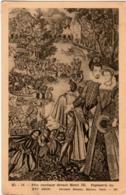 3OMKS 22. FETE NAUTIQUE DEVANT HENRI III - TAPISSERIE DU XVI SIECLE - France