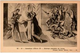 3OMKS 625. ASSASSINAT D' HENRI III - ESTAMPE POPULAIRE DU TEMPS - France