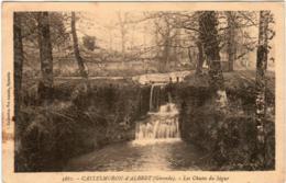3XO 216 CPA - CASTELMORON D'ALBRET - LES CHUTES DU SEGUR - Autres Communes