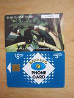Chip Phonecard,Parrots - Bahamas
