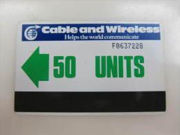 Autelca Magnetic Phonecard,50 Units, Used - Falkland