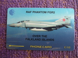 GPT Phonecard,4CWFA Airforce,used - Falkland