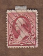 USA  (Y&T) 1890-93   N°71  *G. Washington*   * 2c *  Obl - 1847-99 Unionsausgaben