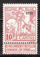 98**  Caritas Surchargé 1911 - Bonne Valeur - MNH** - LOOK!!!! - 1910-1911 Caritas