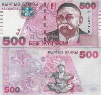 Kyrgyzstan 2000 - 500 Som - Pick 17 UNC - Kirghizistan