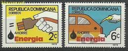 Dominican Republic 1979 Mi 1241-1242 MNH ( ZS2 DOR1241-1242 ) - Voitures