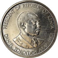 Monnaie, Kenya, 50 Cents, 1989, British Royal Mint, TTB+, Copper-nickel, KM:19 - Kenia