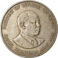 Monnaie, Kenya, Shilling, 1980, British Royal Mint, TB+, Copper-nickel, KM:20 - Kenya