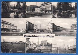 Deutschland; Rüsselsheim; Multibildkarte - Ruesselsheim
