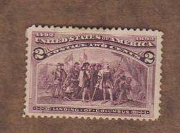 USA  (Y&T) 1893   N°82  *4è Centenaire De La Découverte De L'Amérique*   * 2c *  Neuf/new - 1847-99 General Issues