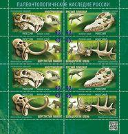 Russia 2020 Paleontological Sheet MNH - 1992-.... Federation