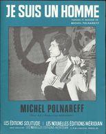 """""""Je Suis Un Homme"""" Michel Polnareff - Paroles Et Musiques Michel Polnareff. - Musik & Instrumente"""