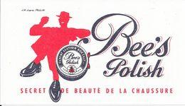 Buvard - Bee's Polish Secret De La Beauté De La Chaussure - Shoes