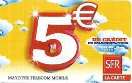 @+ TC Des Comores - Mayotte 5€ (10/12) - Comore