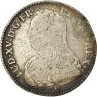 Monnaie, France, Louis XV, 1/2 Écu Aux Branches D'olivier, 1/2 ECU, 44 Sols - 987-1789 Royal