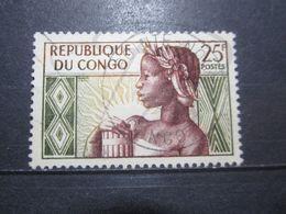 """VEND BEAU TIMBRE DU CONGO N° 135 , OBLITERATION """" POINTE-NOIRE """" !!! (b) - Afgestempeld"""