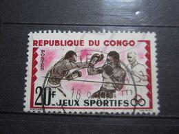 """VEND BEAU TIMBRE DU CONGO N° 150 , OBLITERATION """" POINTE-NOIRE """" !!! - Afgestempeld"""