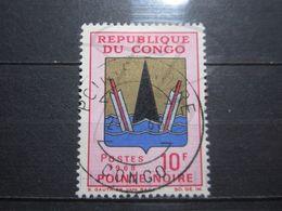 """VEND BEAU TIMBRE DU CONGO N° 213 , OBLITERATION """" POINTE-NOIRE """" !!! - Afgestempeld"""