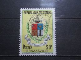 "VEND BEAU TIMBRE DU CONGO N° 214 , OBLITERATION "" BRAZZAVILLE "" !!! - Afgestempeld"