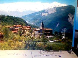 APPENNINO REGGIANO MONTE CUSNA ALTA VAL D'ASTA CAMPANILE  N1975 HQ9694 - Reggio Nell'Emilia