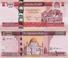 Afghanistan 2012 - 1000 Afghanis - Pick 77c UNC - Afghanistan