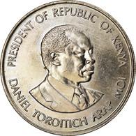 Monnaie, Kenya, Shilling, 1989, British Royal Mint, SUP, Copper-nickel, KM:20 - Kenya
