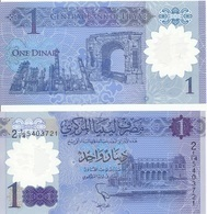 Libya - 1 Dinar 2019 UNC Pick New Polymer Lemberg-Zp - Libyen