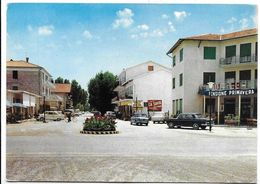 Ca' Savio Treporti (Venezia). Centro - Auto, Car, Voitures. - Venezia