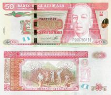 Guatemala 2006 - 50 Quetzales - Pick 113a UNC - Guatemala