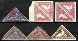 744 - COGH - CAPE OF GOOD HOPE - 1853-61 - FORGERIES, FALSES, FALSCHEN, FAKES, FALSOS - Collezioni (senza Album)