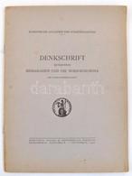 Denkschrift Betreffend Bessarabien Und Die Nord-Bukowina. Bukarest, 1940, Accademia Romena. Vitairat Besszarábia és Észa - Cartes