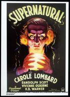 1933 Affiche Poster  Science Fiction CAROLE LOMBARD Supernatural Paramount - Voyante Boule De Cristal Psychic Medium - Astrology