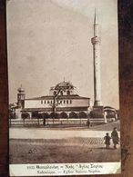 Cpa 1917,  SALONIQUE -GRECE - GREECE- EGLISE SAINTE SOPHIE,(ANIMEE), éd Librairie Française, Salonique - Grecia