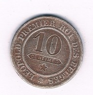 10 CENTIMES 1861  BELGIE /4988/ - 1831-1865: Leopold I
