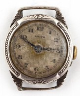 Ezüst(Ag) Női óra, Jelzett, Nem Jár, D: 2,3 Cm, Bruttó: 9,6 G - Jewels & Clocks