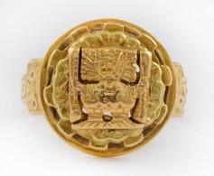 Arany (Au) 18K Gyűrű, Jelzett, Méret: 52, Nettó: 5,8 G - Jewels & Clocks