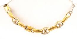 Aranyozott Ezüst(Ag) Karkötő, Jelzés Nélkül, állítható Hosszúság, Max: 20 Cm, Bruttó: 8 G - Jewels & Clocks