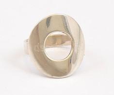 Ezüst(Ag) Extravagáns Gyűrű, Jelzett, Méret: 55, Nettó: 6,4 G - Jewels & Clocks