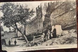 Cpa 1919, Vestiges Des Remparts De Salonique, écrite, Grèce - Greece - Grecia