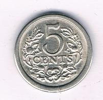 5 CENTS 1981 NEDERLAND /4989/ - [ 3] 1815-… : Royaume Des Pays-Bas