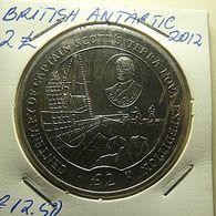 British Antartic Territory 2 Pounds 2012 - Monnaies